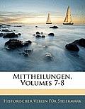 Mittheilungen, Volumes 7-8