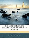 The Lord's Host; Or, Lessons from the Book of Joshua