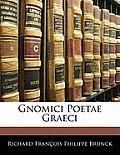 Gnomici Poetae Graeci