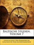 Baltische Studien, Volume 7