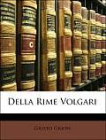 Della Rime Volgari