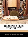 Harrower Prize Contest, 1920