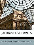 Jahrbuch, Volume 27
