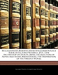 Miscellaneous Remains from the Commonplace Book of Richard Whately, D.D., Late Archbishop of Dublin: Being a Collection of Notes and Essays Made Durin