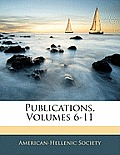 Publications, Volumes 6-11