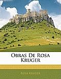 Obras de Rosa Kruger