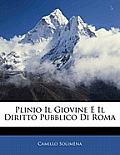Plinio Il Giovine E Il Diritto Pubblico Di Roma