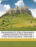 Monatshefte Der Comenius-Gesellschaft Fr Kultur Und Geistesleben, Volume 3