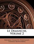 Le Dimanche, Volume 2