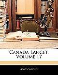 Canada Lancet, Volume 17