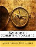 Smmtliche Schriften, Volume 12