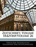 Zeitschrift, Volume 18; Volume 26