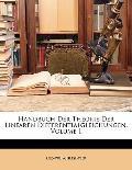 Handbuch Der Theorie Der Linearen Differentialgleichungen, Volume 1