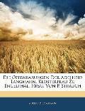 Die Offenbarungen Der Adelheid Langmann, Klosterfrau Zu Engelthal. Hrsg. Von P. Strauch