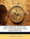 Bayernbuch: Hundert Bayrische Autoren Eines Jahrtausends