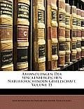 Abhandlungen Der Senckenbergischen Naturforschenden Gesellschaft, Volume 15