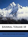 Journal, Volume 10
