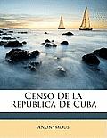 Censo de La Republica de Cuba