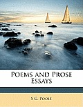 Poems and Prose Essays