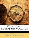 Vocational Education, Volume 3