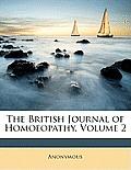 The British Journal of Homoeopathy, Volume 2