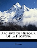Archivo de Historia de La Filosofa
