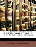 Genera Plantarum Ad Exemplaria Imprimis in Herbariis Kewensibus Servata Definita, Volume 3, Part 1