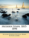 Modern Spain, 1815-1898
