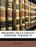 Mmoires de La Socit Duenne, Volume 11