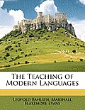 The Teaching of Modern Languages