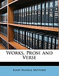 Works, Prose and Verse