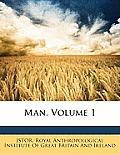 Man, Volume 1