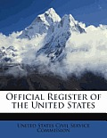 Official Register of the United States