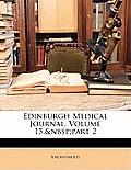 Edinburgh Medical Journal, Volume 15, Part 2