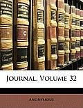 Journal, Volume 32