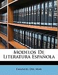 Modelos de Literatura Espaola