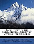 Proceedings of the Entomological Society of Washington, Volume 22