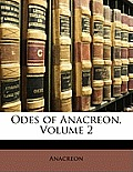 Odes of Anacreon, Volume 2