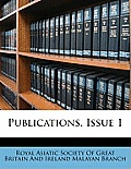 Publications, Issue 1