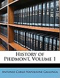 History of Piedmont, Volume 1