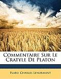 Commentaire Sur Le Cratyle de Platon