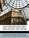 Archologischer Nachlass Aus ROM