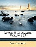Revue Historique, Volume 65