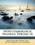 Wrttembergisch Franken, Volume 18