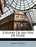 L'Uvre de Jan Van de Velde