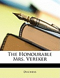 The Honourable Mrs. Vereker
