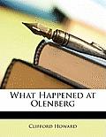 What Happened at Olenberg