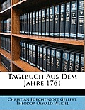 Tagebuch Aus Dem Jahre 1761
