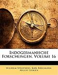 Indogermanische Forschungen, Volume 16