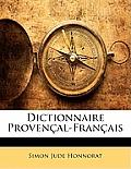Dictionnaire Provenal-Franais